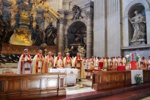 Syro Malabar Bishops Holy Mass Rome