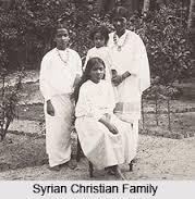 Syrian christian family